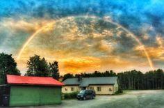 #sateenkaari #rainbow Ihan ilman mitään efektejä. #t #fb