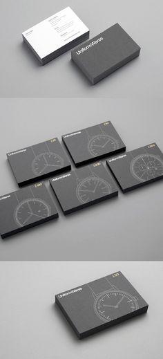 Uniform Wares | #Business #Card #letterpress #creative #paper #businesscard #corporate #design #visitenkarte #corporatedesign < repinned by www.BlickeDeeler.de