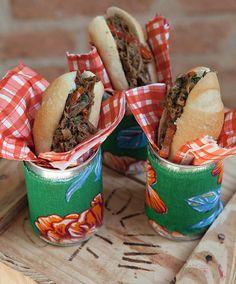 Sanduiche de carne louca - Receita de Juliano Cordeiro, do Zest Cozinha Criativa Revista casa e Comida