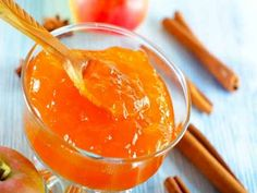 Apple Jam is the blend of apples, lemon juice and spice powder. This is the best home made jam made with fresh apples. The healthy and yummy apple jam can Jam Recipes, Candy Recipes, Sweet Recipes, Apple Jam, Fruit Preserves, Indian Dessert Recipes, Harvest Party, Fresh Apples, Jelly