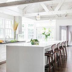 LDa Architects - kitchens - modern walnut barstool, walnut barstool, modern wood