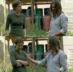 The Walking Dead Season 7 Episode 5 'Go Getters' Maggie and Jesus