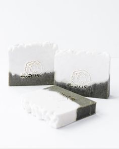 N A T U R A L S O A P • 'Meadow Lamb' is a versatile all-natural soap.  The bottom half of the soap bar is dyed with spirulina powder, a real antioxidant, full of minerals, beta-carotene, vitamins E and B. Spirulina Powder, Beta Carotene, Soap Bar, Natural Cleaning Products, Vitamin E, Lamb, Minerals, Surf, Artisan