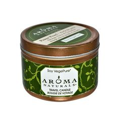 Aroma Naturals 814749 Aroma Naturals Soy VegePure Travel Candle  Peace Pearl Orange Clove and Cinnamon  28 oz * Check this awesome product by going to the link at the image.
