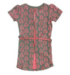 QUAPI jurk Diewertje (olijf-allover) maat 92, 104, 116, 152