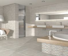 Enjoy our porcelain and ceramic tiles floors and walls in settings of bathrooms, kitchens , livingrooms and exteriors Ceramic Floor Tiles, Wall Tiles, Tile Floor, Decor Inspiration, Me Time, Style Tile, Minimalist Living, Interiores Design, House Tours