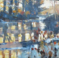 - Chris Forsey Abstract Landscape Painting, Landscape Art, Landscape Paintings, Abstract Art, Watercolor Trees, Funny Art, Beautiful Artwork, Painting Techniques, Art Projects