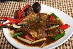 Gabus Pucung is traditional food from Jakarta, Indonesia. Made from Gabus fish.