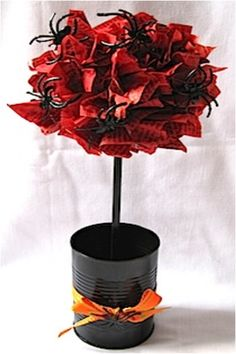 Top 10 DIY Halloween Topiaries