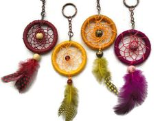 Dreamcatcher keyrings, a selection of dreamcatchers, keyring, keychain. £4.50