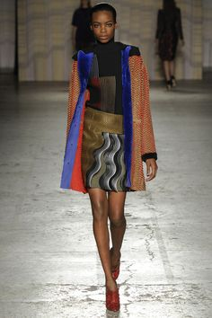Marco de Vincenzo Fall 2014 RTW - Runway Photos - Fashion Week - Runway, Fashion Shows and Collections - Vogue