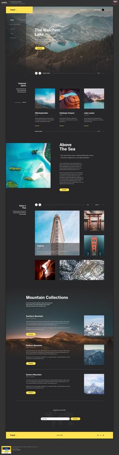 Saved onto Web Design Collection in Web Design Category Cool Web Design, Design Page, Web Ui Design, Responsive Web Design, Ui Web, Website Design Layout, Web Layout, Layout Design, Webdesign Inspiration