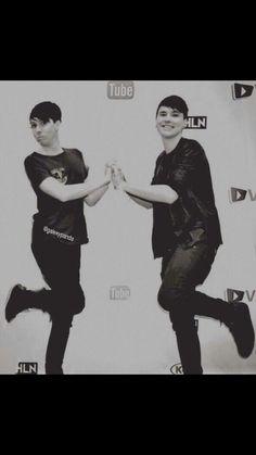 Danisnotonfire and amazingphil, pinned it already. SHALL DO IT AGAIN! Btw, this is my favorite pic of them.