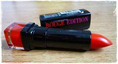 5- Rouge Edition de Bourjois, n°10 Rouge buzz,11,95€ sur le site Bourjois.com.