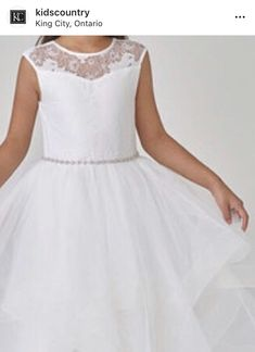 King City, Hit The Floors, Communion Dresses, Heart Dress, Flower Girl Dresses, Country, Wedding Dresses, Lace, Kids