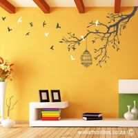 Best Birds & Butterflies Wall Art Stickers in South Africa by WallArt Studio, browse our selection of wall art designs today. Wall Decor Design, Wall Art Designs, Home Decor Wall Art, Wall Decal Sticker, Vinyl Wall Decals, Simple Wall Paintings, Home Wall Colour, Family Room Walls, Butterfly Wall Art