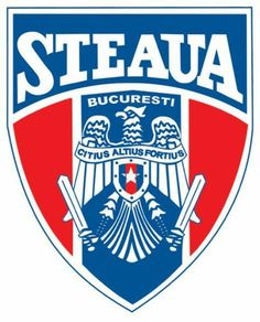 CSA Steaua București Logo Football Team Logos, Soccer Logo, Sports Logo, Soccer Teams, Fifa, Badge Design, Sports Clubs, Uefa Champions League, Rugby