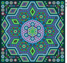 Facebook Hexagon Quilt Pattern, Hexagon Patchwork, Paper Pieced Quilt Patterns, Patchwork Patterns, La Passion Quilt, Millefiori Quilts, Quilting Designs, Quilting Ideas, English Paper Piecing