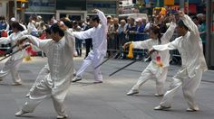 #Taichi at #TimesSquare in #NYC. #WhereChinaBegan #AmazingHenan #BeautifulChina #Henan #China #MartialArts