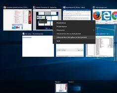Tipy a triky pro Windows 10 Windows 10, Desktop Screenshot, Software