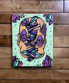 New Canvas Art Painting Artworks Acrylics Ideas Trippy Drawings, Psychedelic Drawings, Art Drawings, Small Canvas Art, Diy Canvas Art, Canvas Canvas, Trippy Painting, Painting Art, Paintings