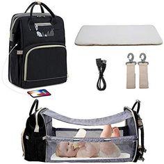 Black Diaper Bag, Best Diaper Bag, Large Diaper Bags, Baby Diaper Bags, Portable Baby Bed, Convertible Diaper Bag, Stroller Bag, Baby Changing Bags, Diaper Bag Backpack