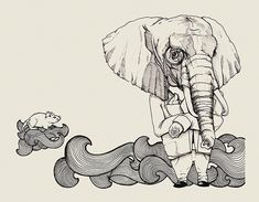 there will never be enough elephants in my life..