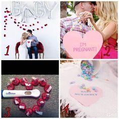 Random Pregnancy Announcement Idea For Valentines Day
