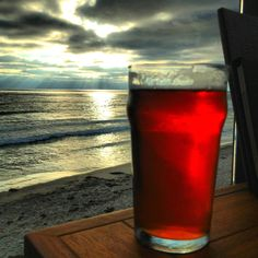 Beer and a view - San Diego, CA, for you Nada ;)