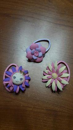 Elastici legacapelli decorati in fommy