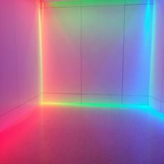 colors, neon, and light image