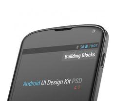 Nexus Screen Android UI Design Kit PSD Mockups