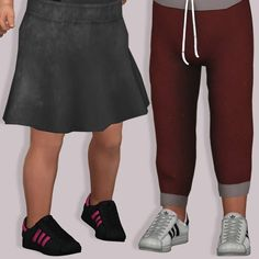 LumySims: Semller Adidas Superstar for Toddlers • Sims 4 Downloads