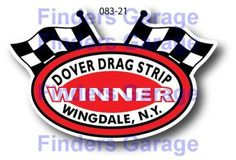 Dover-Drag-Strip-WINNER-NEW-FIND-DECAL-STICKER