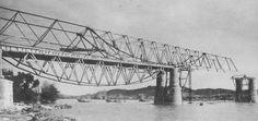 Tordera Bridge, Tordera, Barcelona, Catalonia, Spain, Europe  Completed in: 1939 Structural Type: Lenticular bridge Materials:      Truss: Steel      Deck slab: Reinforced concrete  Total length: 145.8 m; Span lengths: 45.70 m - 54.85 m - 45.70 m; Deck width: 8.55 m*  Designer: Eduardo Torroja y Miret Engineer: G. Andreu Engineer: Cesar Villalba Granda *During 1993 - 1994 The bridge was rehabilitated and widened to 11.5 m.