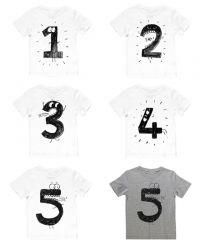 Birthday t-shirt   wit