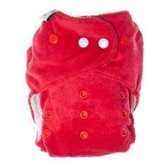 Bitti Tutto One-Size Cloth Diaper in red by Itti Bitti