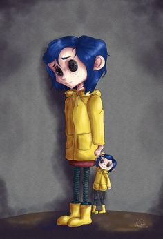 Coraline Print | Etsy Other Mother Coraline, Coraline Jones, Other Mothers, Art Base, Tim Burton, Large Prints, Original Art, Costumes, Cosplay Ideas