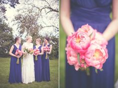 Plush Peony Bouquet! Photo by Natalie Pluck via b.loved.