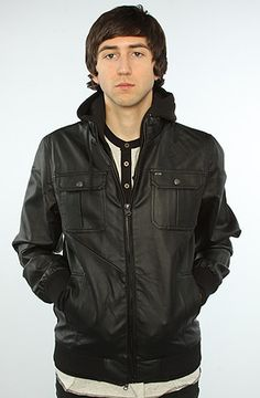 The Rapture Jacket in Black by Obey