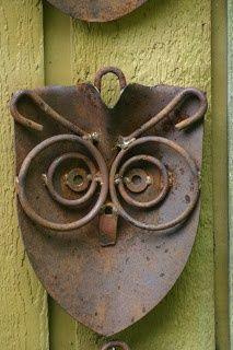 recycled garden art   recycled materials - ART / Kathi's Garden Art…