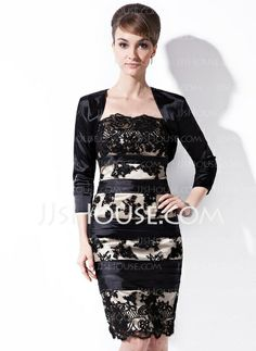 Wraps - $26.99 - 3/4-Length Sleeve Charmesue Special Occasion Wrap (013012303) http://jjshouse.com/3-4-Length-Sleeve-Charmesue-Special-Occasion-Wrap-013012303-g12303