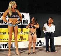tallest muscle girl | tall&short | Flickr