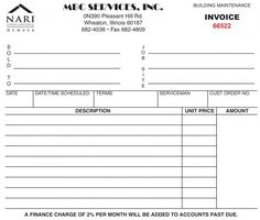 Tax invoice for goods or services that all include GST. | Projects ...