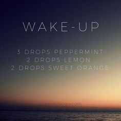 Wake-Up Diffuser Blend Spring Diffuser Recipes - CuriouslyJacqui Essential Oil Diffuser Blends, Doterra Oils, Doterra Essential Oils, Young Living Oils, Young Living Essential Oils, Diffuser Recipes, Eos, Incense, Doterra Peppermint
