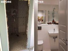 Bathroom | Before & After Malmhattan 7 of 8 @homedoubler  #bathroom #bathroominspo   #bathroominspiration #beforeandafter #malmhattan #malmö #malmo #föreochefter #badrum
