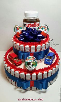 Buy Cake from Kinder gift for a child .- Buy Cake from K Buy Cake from Kinder gift for a child …- Купить ТОРТ ИЗ КИНДЕ… Buy Cake from Kinder gift for a child …- Buy Cake from Kinder a gift for a child … Buy Cake from Kinder … – # sweetcandy - Diy Birthday Gifts For Friends, Cute Birthday Gift, Gifts For Kids, Candy Birthday Cakes, Candy Cakes, Christmas Gift Baskets, Christmas Gift Box, Christmas Trees, Candy Bouquet Diy