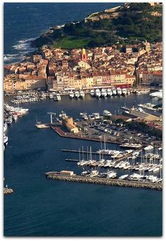 Aerial view..........St Tropez.................... Photo by mariechmura