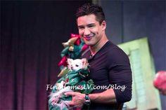 Extra TV Host Mario Lopez At Rose.Rabbit.Lie. Inside The Cosmopolitan of Las Vegas By Bill Cody @Vegas BiLL http://twitter.com/VegasBiLL #Vegas #celebrity #nightlife