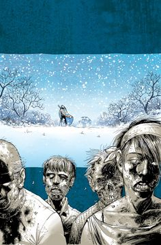 THE WALKING DEAD, VOL. 2: MILES BEHIND US TP Cover    Written by ROBERT KIRKMAN  Art by CHARLIE ADLARD  Cover by TONY MOORE